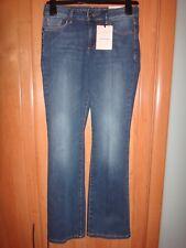 M & S Indigo Slim Flare Jeans - Size 10 Short BNWT