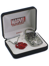 Spider-Man Fathers Day Keychain Necklace Gift Set Marvel Comics New In Box