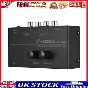 PP500 Phone Preamplifier Bass Treble Balance Volume Tone EQ Control Board
