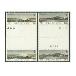Isle of Man 99-100 gutter,MNH.Michel 95-95. EUROPE CEPT-1977.Carrick Bay,Mooragh