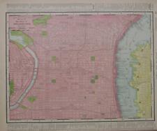 1918 WEST PHILADELPHIA PENNSYLVANIA INSTUTITE N63-N66th JEFFERSON CITY Atlas Map