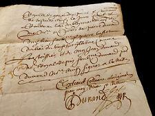 Handwritten Paper 1665