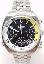 Bulova Accutron Stainless Streel Chronograph Mens Watch 96B237