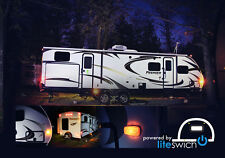 Turn on Camper RV Lights with Liteswich camping accessories cool  party lite
