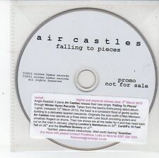 (DS780) Air Castles, Falling to Pieces - 2012 DJ CD