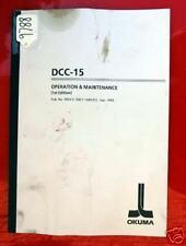 Okuma Dcc-15 Horizontal Drilling Center Manual 3934-E (Me11-089-R1) Inv. 9788