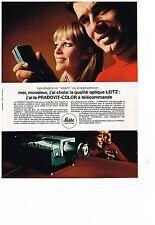 PUBLICITE  1969   LEITZ   appareil photo PRADOVIT-COLOR
