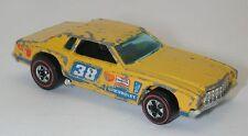 Redline Hotwheels Yellow 1975 Monte Carlo Stocker oc6169