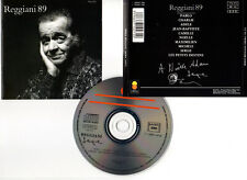 "SERGE REGGIANI ""89"" (CD) Pablo,Charlie,Adèle... 1988"