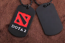 Big Dota 2 Classic Game Metal Chain Necklace Pendant Good Xmas Gift Unisex