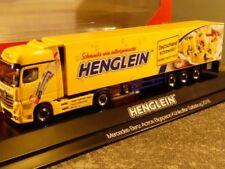1/87 Herpa MB Actros Bigspace Kühlkoffer Sattelzug Henglein 121927