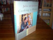 Julia and Jacques : Cooking at Home by Julia Child (signed)