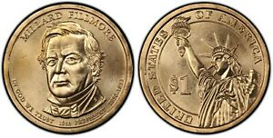 2010 D MILLARD FILLMORE DOLLAR COIN    XF    FREE SHIPPING