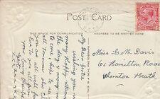 Miss Gertie M Davis, 61 Hamilton Road, Thornton Heath 1931 'Auntie Gert' JZ3.83