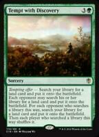MTG Tempt with Discovery Commander 2016 RARE Green NM/M SKU#280