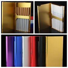 Femme Boîte Etui Coque Cigarette Porte Pour 20 Cigarettes Aluminium Métal Cadeau