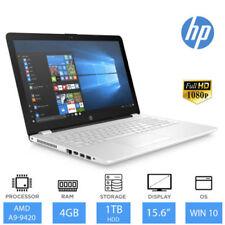 Portátiles y netbooks HP Color principal Blanco con 1TB de disco duro