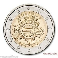 "SLOVENIE: SPECIALE 2 EURO 2012  ""10 jaar EURO"""