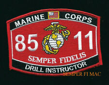 US MARINES DRILL INSTRUCTOR MOS 8511 MCRD PATCH DI SAN DIEGO CA PARRIS ISLAND NC