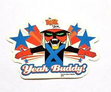 RARE OFFICIAL THE BRAK SHOW TV PROMO STICKER - ADULT SWIM SPACE GHOST COAST TO