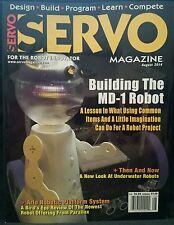 Servo Magazine Building MD-1 Robot Underwater Robots August 2014 FREE SHIPPING