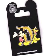 Disney Mickey and Pluto by The Letter D Traders Pin