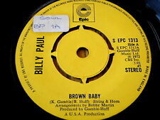 "BILLY PAUL-marron bébé 7"" vinyle"