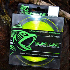 Slime Line Hi-Vis Green 4Lb 325Yd Made For Crappie Pole Fishing Grizzly Jig