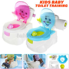 2in1 Baby Children Toilet Trainer Toddler Kid Potty Training Seat Chair Portable