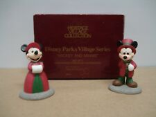 Dept 56 Heritage Village Collection - Disney Parks Series - Mickey and Minnie