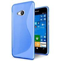 Handy Hülle für Microsoft Lumia 540 Silikon Case Slim Cover Schutz Hülle Tasche