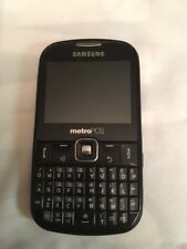 Samsung Freeform III SCH-R380 - Black (MetroPCS) Cellular Phone, good for prob