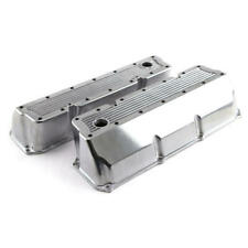 Speedmaster Engine Valve Cover Set PCE314.1179; Ribbed Cast Aluminum for Ford