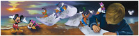 Disney Fine Art Limited Edition Canvas Young Dreamer-Mickey-Jim Warren