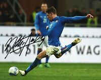 Foto Autografo Calcio Belotti Andrea Asta Beneficenza Soccer  Signed Gallo Sport