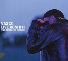VASCO ROSSI - LIVE KOM 011 THE COMPLETE EDITION 2 CD + DVD NEW+