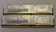 4GB Samsung Kit 2x 2GB DDR2 667mhz pc2-5300F ECC Fully Buffered 2Rx4 Server RAM