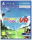 Everybody's Golf Sony PS VR PS4 Game 3+ Years