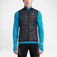 Nike Aeroloft Flash Men's Running Vest SZ XL 689168-011 $280 Warm Reflective