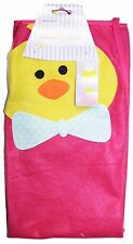 MOMENTUM Fuchsia+Yellow+Blue+Orange ADULT APRON Cooking Clothes EASTER CHICK