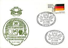 30 Jahre Gebirgsnachschubbtl. 8 Mittenwald - Feldpost