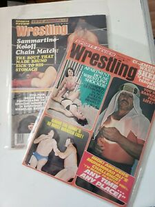 Sports Review Wrestling Annual 1976 Noc 1975 Sheik Andre Sammartino Koloff