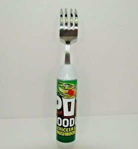 Pot Noodle Chicken And Mushroom Flavour Spinning Fork Tested and Working