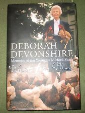 Wait For Me: Memoirs of the Youngest Mitford Sister by Deborah Devonshire (Hardb