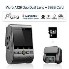Viofo A129 Duo Dual Channel 1080P 30FPS F1.6 Wi-Fi GPS Dash Camera w/ 32G Card