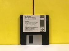 Fluke Metcal 5500 Based Scope Disk 2 Floppy Disk Software