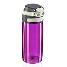 Leifheit Trinkflasche Tritan Flip purple Flasche Tritan Silikon 550 ml 3264