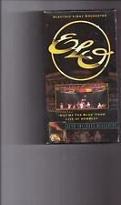 ELO ELECTRIC LIGHT ORCHESTRA OUT OF THE BLUE TOUR LIVE AT WEMBLEY VHS MINT!
