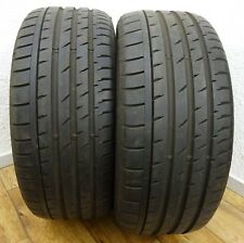 2 CONTINENTAL 245/45 R18 96Y 7,3 mm Sport Contact 3E * RUNFLAT Sommerreifen 2015