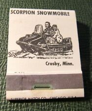 Matchbook - Scorpion Snowmobiles Crosby MN FULL